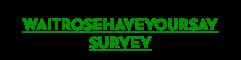 waitrosehaveyoursay-logo